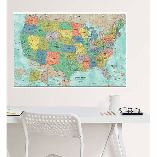 Picture for category Dry Erase Maps