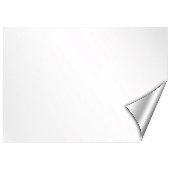 Dry Erase White Board Decal