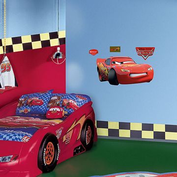 Lightning McQueen Cars Fathead Jr