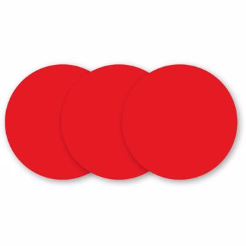 Red Hot Dry-Erase Dots