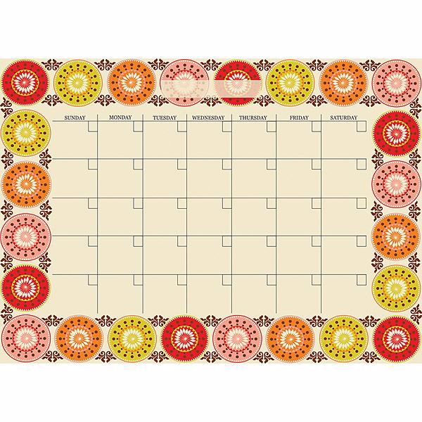 Carnivalé Monthly Calendar