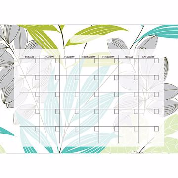 Habitat Monthly Dry Erase Calendar