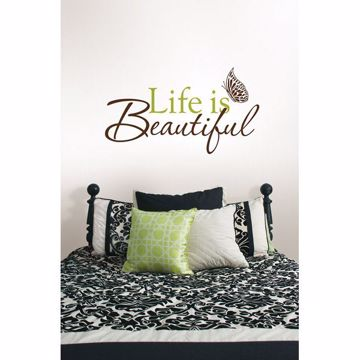Life is Beautiful Wall Phrases