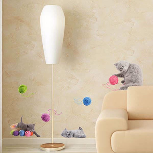 Playful Cats Wall Stickers