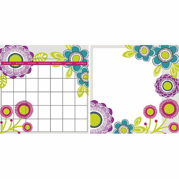 Poppy Board and Calendar