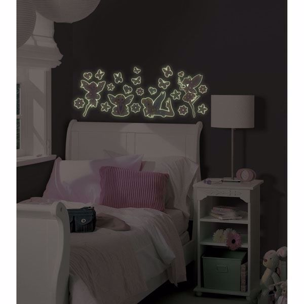 Fairy Glow in the Dark Wall Art Kit