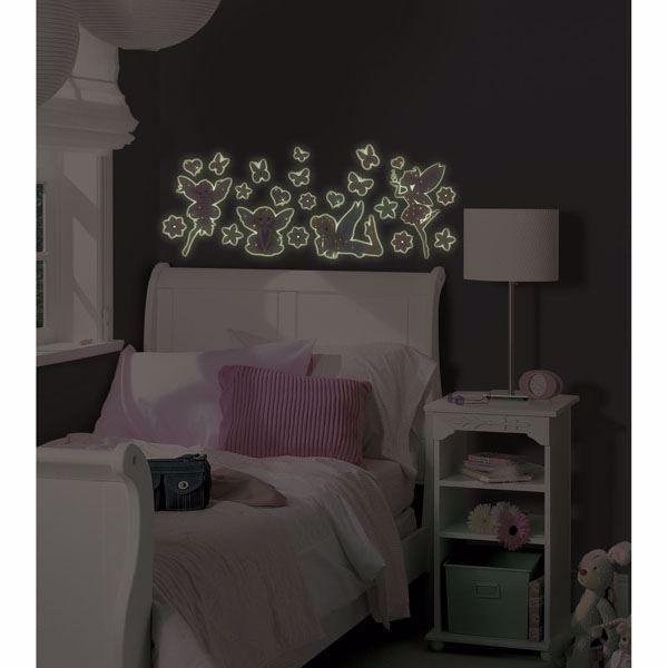 Fairy Glow in the Dark Wall Art Kit