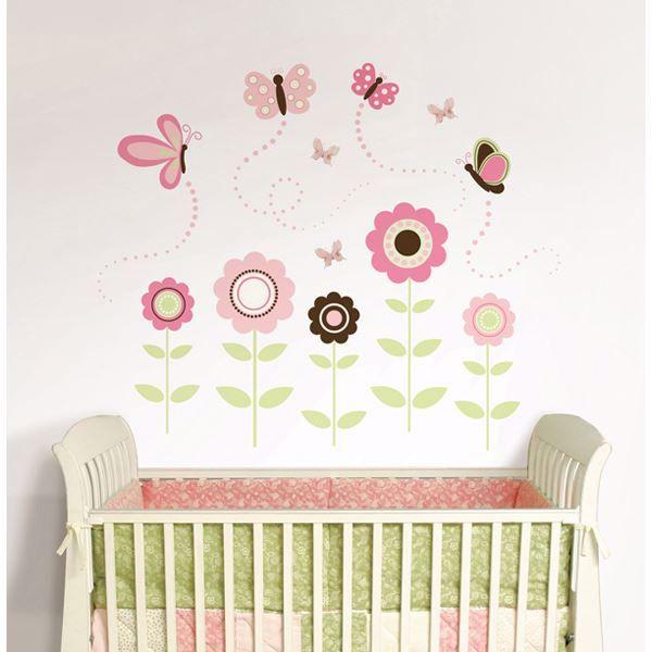 Butterfly Garden Wall Art Kit
