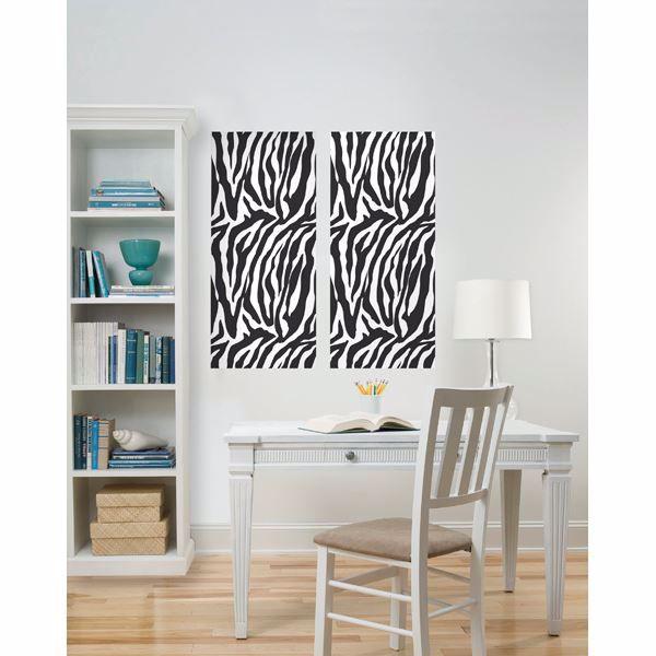 Zebra Design Panel