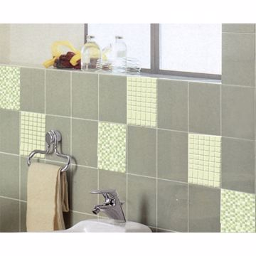 Light Green Adhesive Tiles