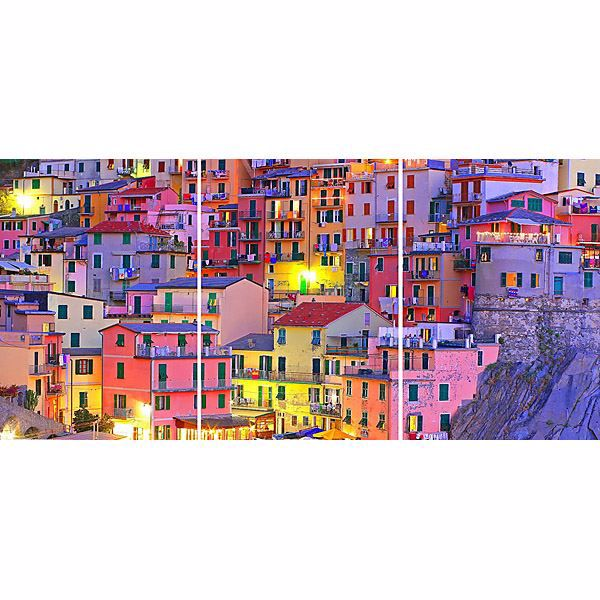 Colourful Town Panoramic