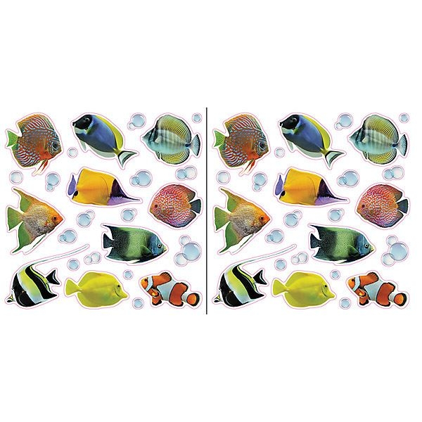 Fish & Bubbles Window Decals