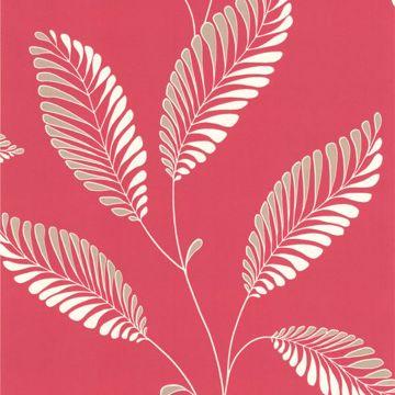 Aubrey Pink Modern Leaf Trail