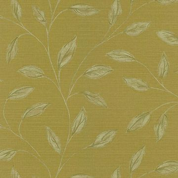 Elspeth Mustard Metallic Leaf