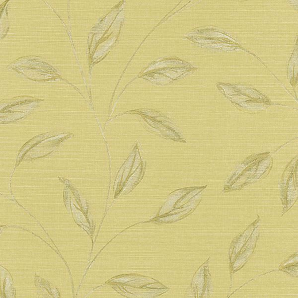 Elspeth Beige Metallic Leaf