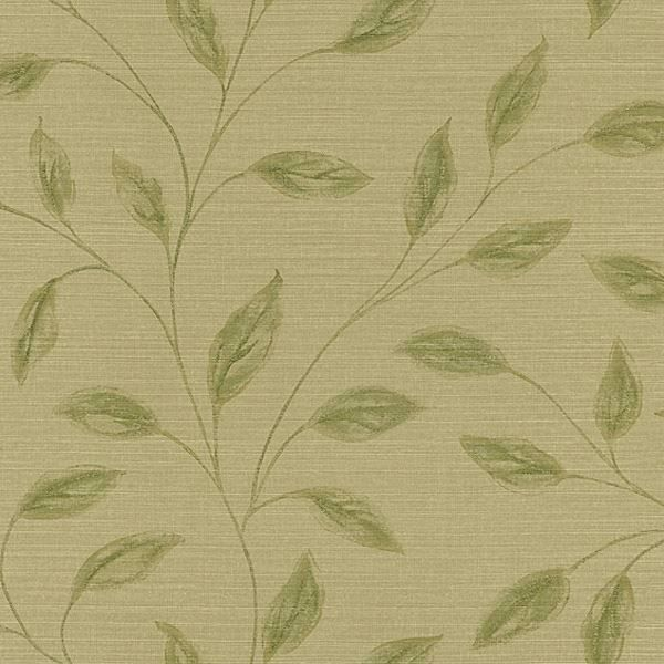 Elspeth Light Brown Metallic Leaf