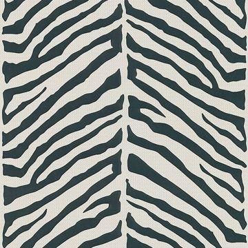 Tailored Zebra Cream Herringbone Zebra