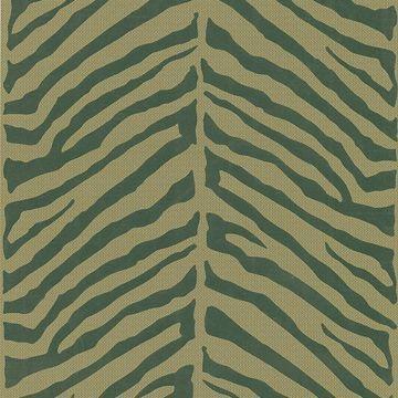 Tailored Zebra Brown Herringbone Zebra