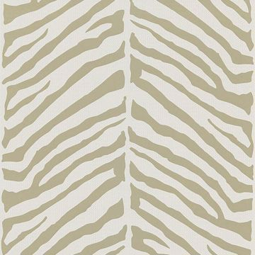 Tailored Zebra Taupe Herringbone Zebra