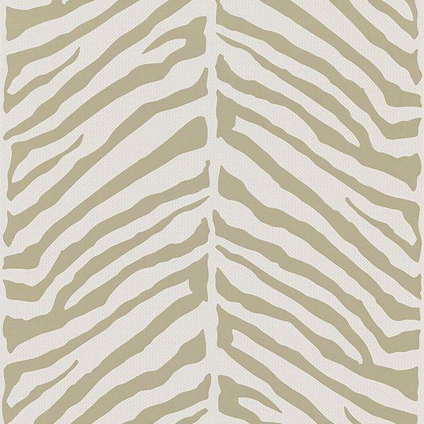 Tailored Zebra Taupe Herringbone Zebra
