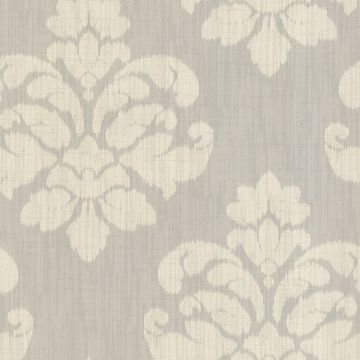 Mallory Light Grey Ikat Medallion