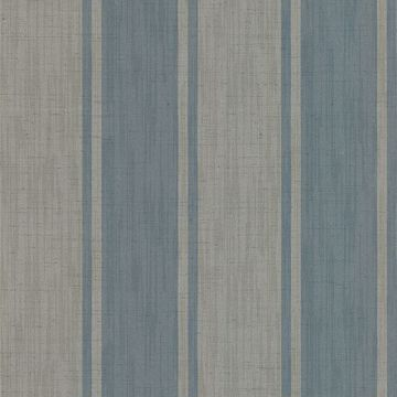Mandalay Aqua Ikat Stripe