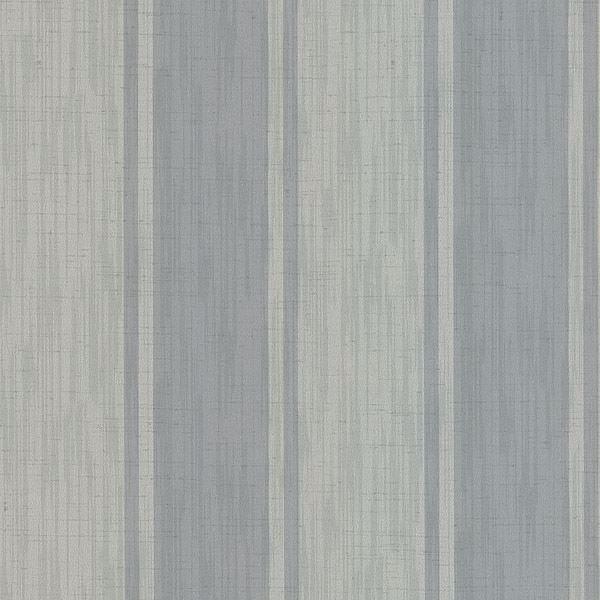 Mandalay Grey Ikat Stripe