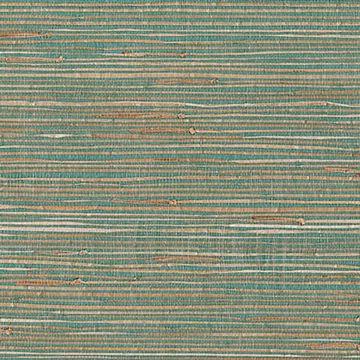 Keiko Aqua Grasscloth