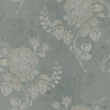 Astrud Green Turquise Floral