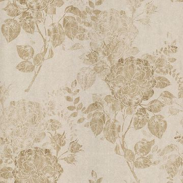 Astrud Beige Turquise Floral