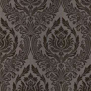 Pastiche Brown Damask