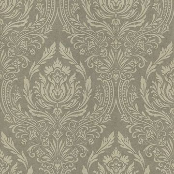 Pastiche Green Damask