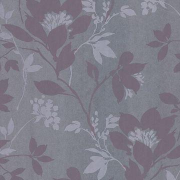 Carina Silver Silhouette Floral