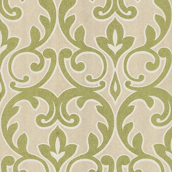 Dior Light Green French Damask