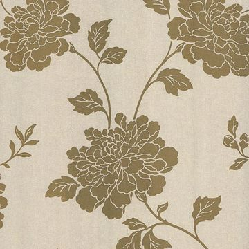Keika Gold Japanese Floral