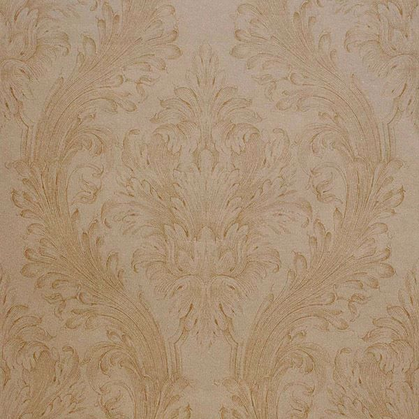 Vincenzo Gold Linen Damask