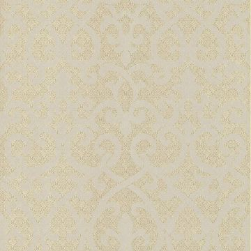 Giselle Gold Ironwork Damask