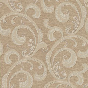 Nijah Light Brown Scroll