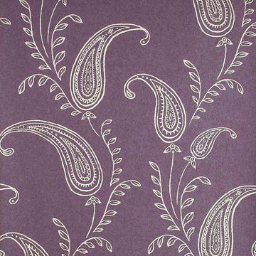 Majidah Purple Paisley