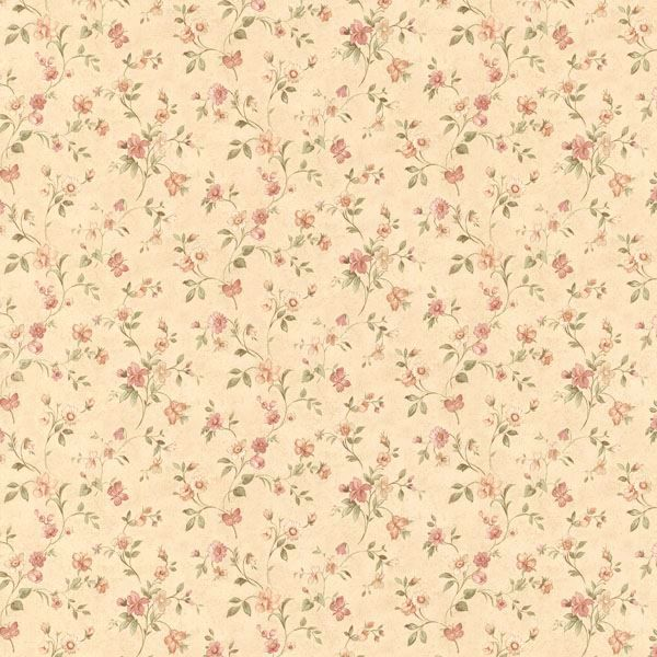 Cindy Beige Floral Trail