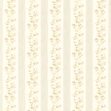 Emma Green Floral Stripe
