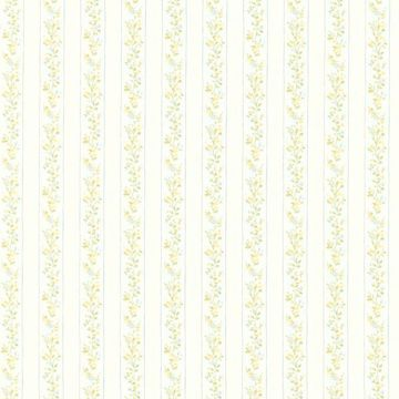 Emily Blue Floral Stripe