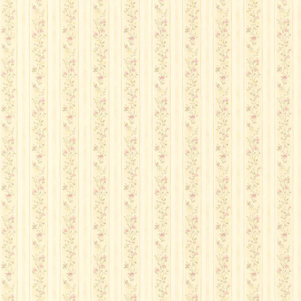 Emily Green Floral Stripe