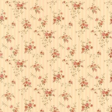 Laurie Beige Floral Stripe