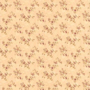 Waverly Burgundy Floral Bouquet