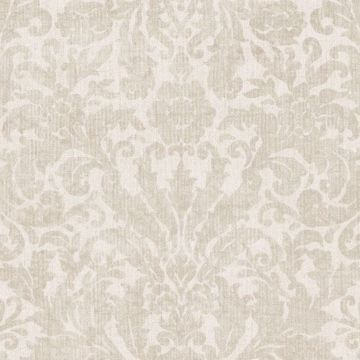 Twill Cream Damask