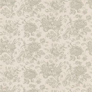 Pavot Beige Floral Toile