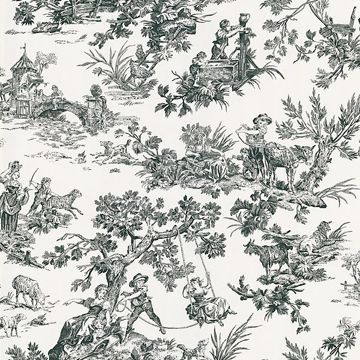 Limoges White Toile