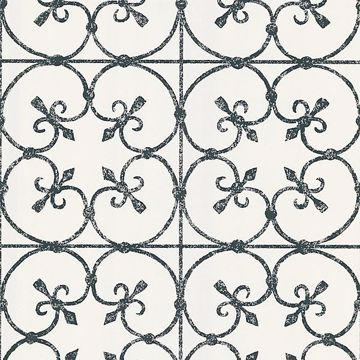 Avalon White Ironwork
