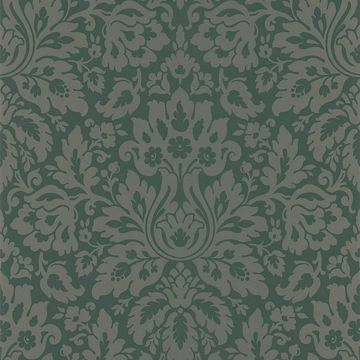 Mirza Brown Damask